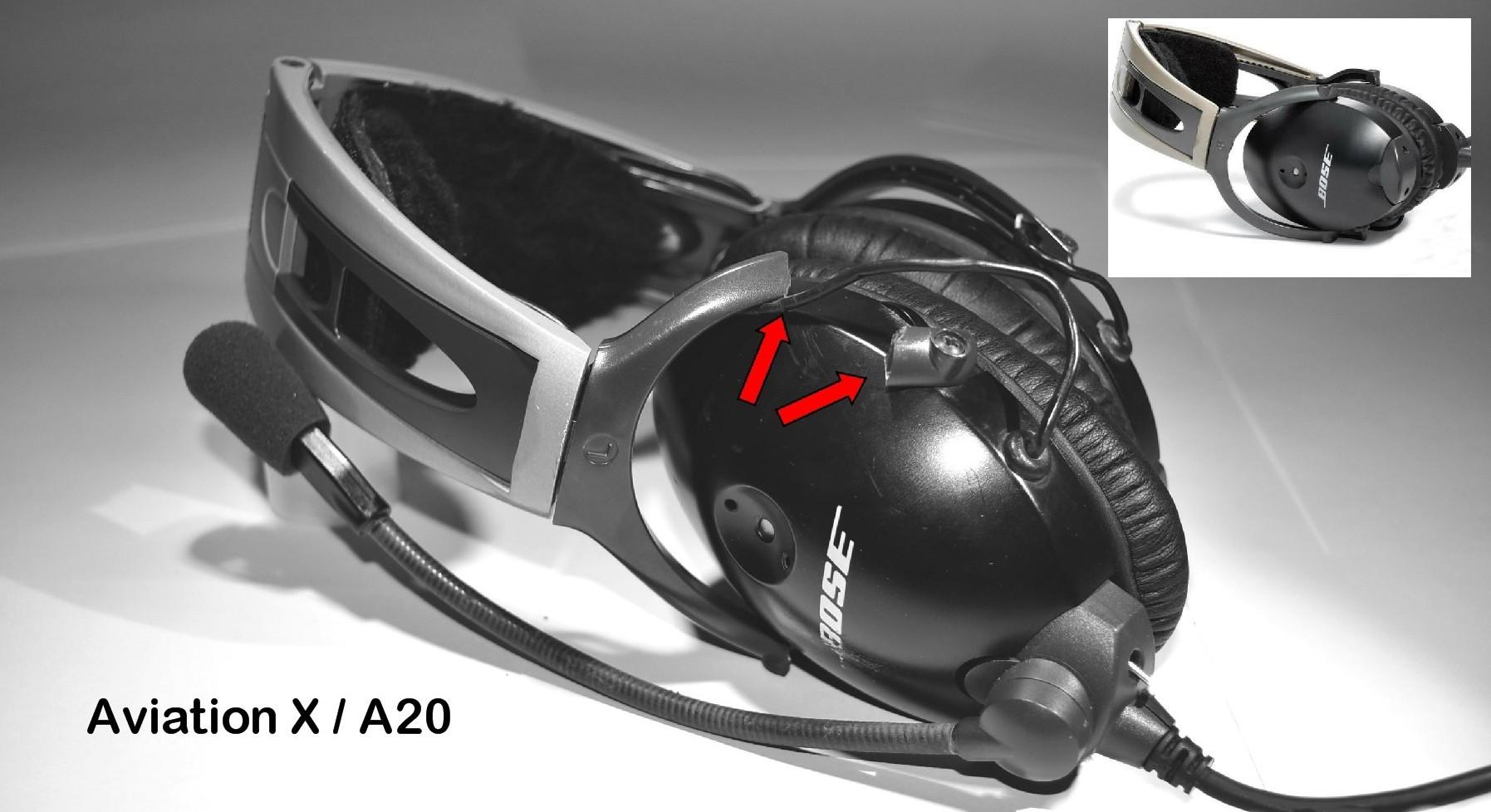 Bose Aviation Headset Repair