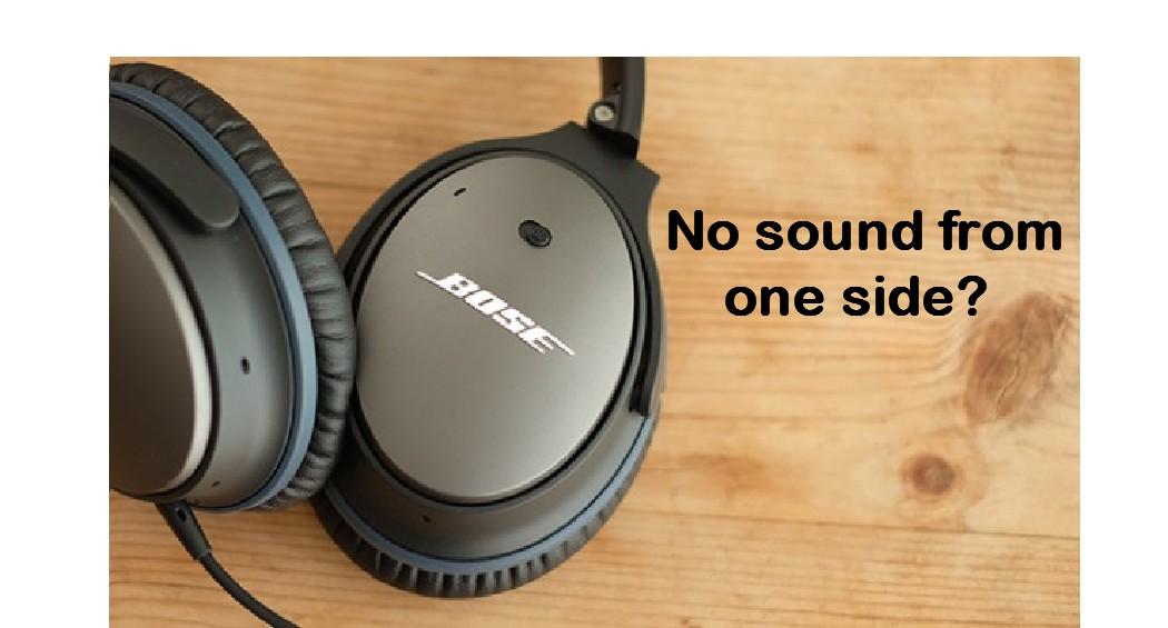 No Sound one side 2